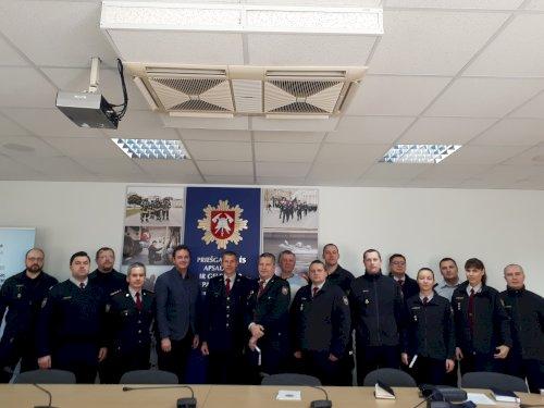 LKD viceprezidento ir mokymų vadovo Mykolo Balaišio mokymai specialiosios pagalbos tarnybų darbuotojams