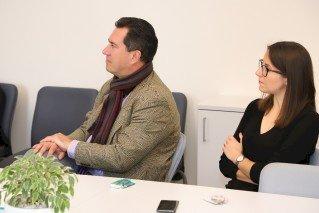 Šiaulių kurčiųjų reabilitacijos centro vadovas Šiaulių savivaldybėje  pristatė pranešimą apie centro veiklas, supažindino su teikiamomis paslaugomis