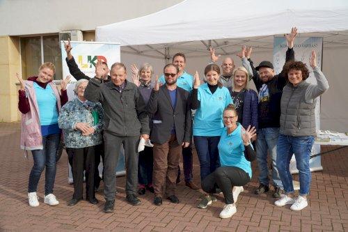 ĮSA projekto komandos vizitas Ukmergėje 2021-09-14