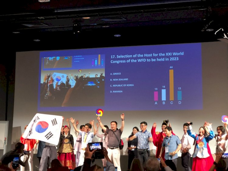 2023 m. Pasaulio kurčiuju kongresas ir Generalinė Asamblėja vyks Korėjoje!