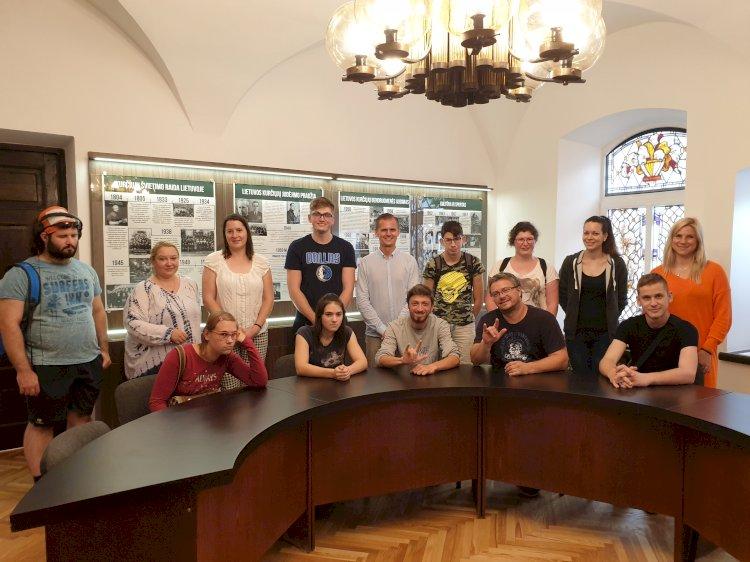 "Slovėnijos kurčiųjų mokyklos ""Zavod za gluhe in naglušne"" moksleiviai lankėsi LKD"