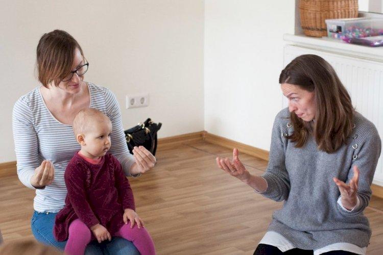 Kūdikių gestai - dovana ateičiai: kalbų gebėjimai, ervinis mąstymas, iškalba