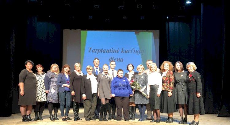 Lapkričio 8 d. Kaišiadoryse 11 - tą kartą vyko Kauno apskrities kurčiųjų organizacijų Tarptautinės kurčiųjų dienos renginys!