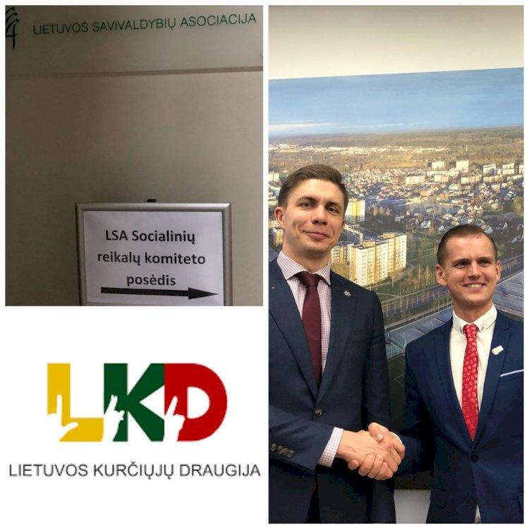 Sausio 29 d.,LKD prezidentasKęstutis Vaišnoradalyvavo Lietuvos savivaldybių asociacijos Socialinių reikalų komiteto posėdyje