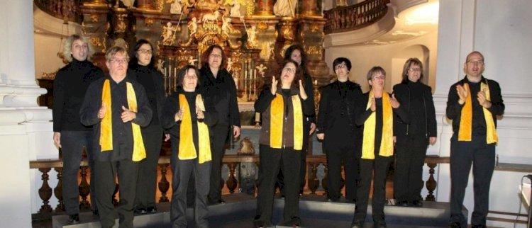 Vilniuje - vokiečių choro koncertas gestų kalba!