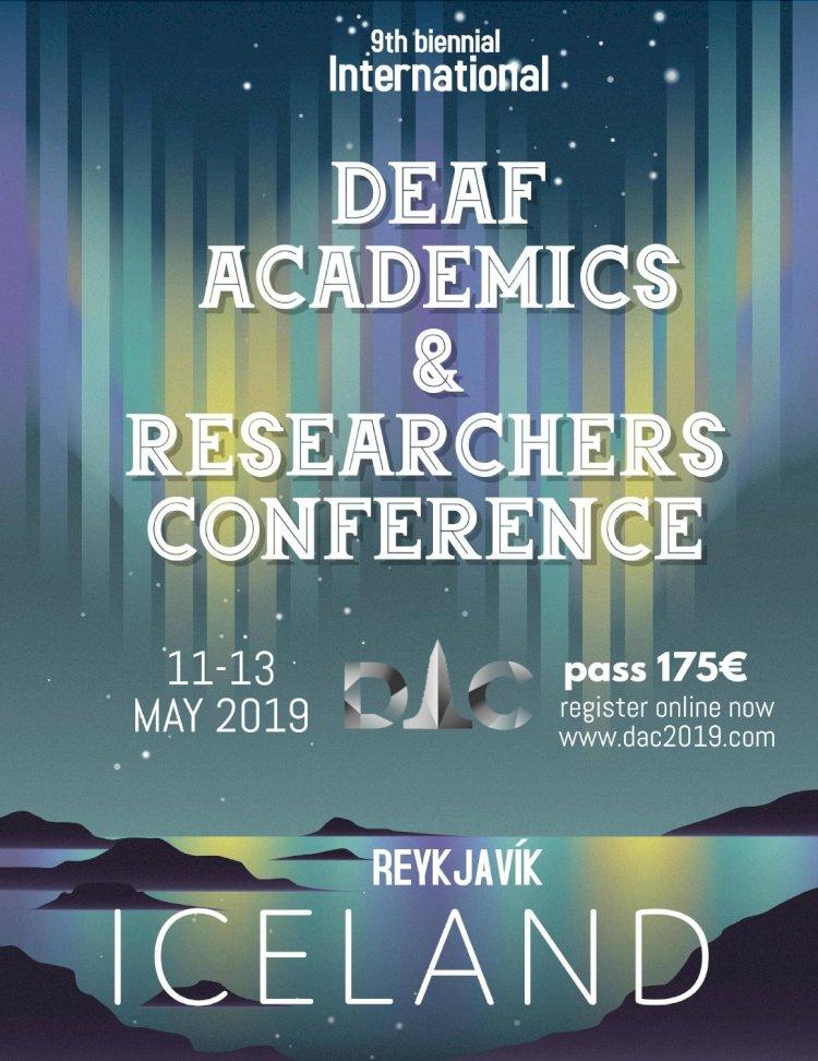 Islandijoje organizuojama kurčiųjų tyrėjų ir akademikų konferencija