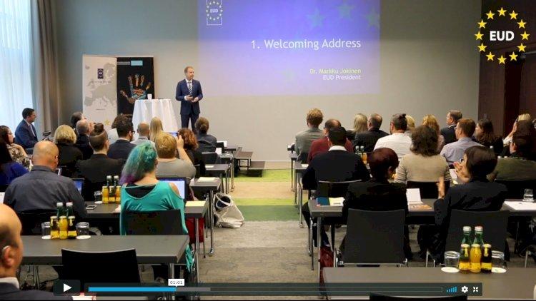 Video akimirkos iš EUD Generalinės Asamblėjos Vienoje