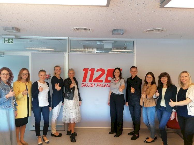 Sėkmingas 112 mobiliosios programėlės startas