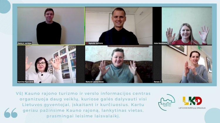 Susitikimas su Kauno rajono turizmo ir verslo informacijos centro atstovais