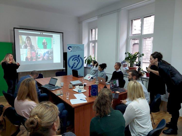 Projekto Deafmedia koordinatoriai susitinka Kroatijoje